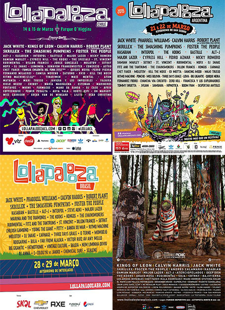 festivaisamericadosul Lollapalooza Brasil