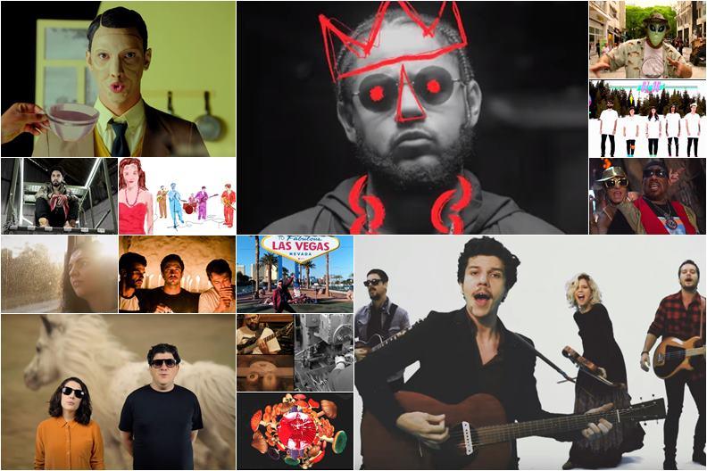videoclipes da música brasileira em 2018