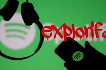 Plataforma streaming Spotify