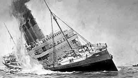 El hundimiento del Lusitania – Presentación de la revista literaria EnSueño