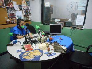 Marco Almansa en nuestro estudio.