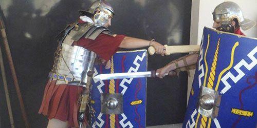 ¿Cómo vivían los romanos? Recreación histórica y novela sobre la legión