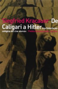 Portada del libro, con un fotograma de El gabinete del doctor Caligari (1920)