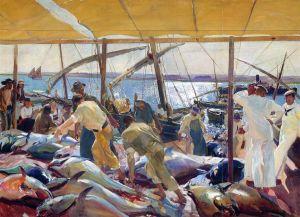 La pesca del atún por Sorolla