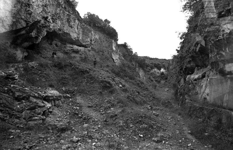 Yacimiento de Atapuerca (Burgos).1976