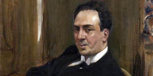 Antonio Machado por Sorolla
