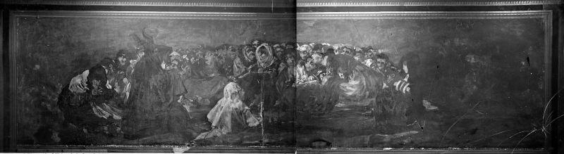 Una de las pinturas negras de Goya