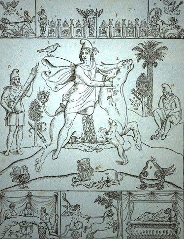 Mitra en un dibujo