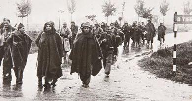 Tropas republicanas en el frente de Aragón