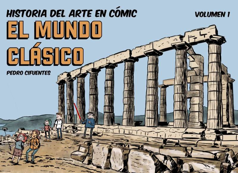 Portada de Historia del arte en cómic