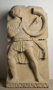 El Cornicen de Osuna es un relieve íbero perteneciente a una tumba
