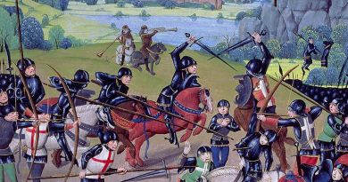 Enrique V fue el protagonista en la batalla de Agincourt