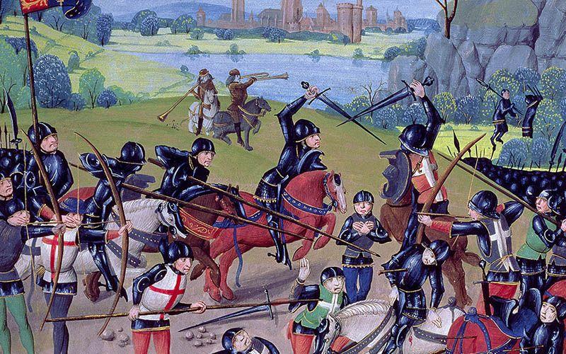 Enrique V y la batalla de Agincourt