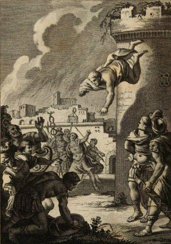 Ilustración de la Numancia de Cervantes, como el Frankenstein de Shelley, muy influenciada por la Farsalia de Lucano.
