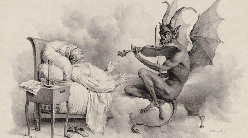 Tartini y el diablo por Louis Léopold Boilly