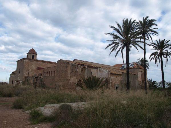 El monasterio es un buen ejemplo del patrimonio en ruinas ne España