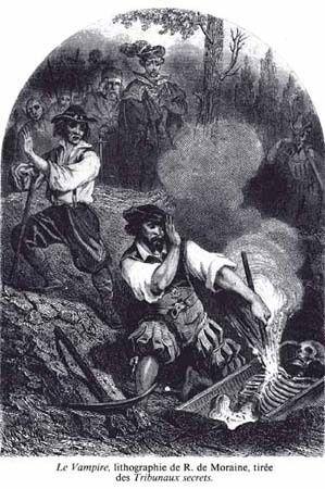 Imagen sobre el vampiro histórico y el vampiro literario