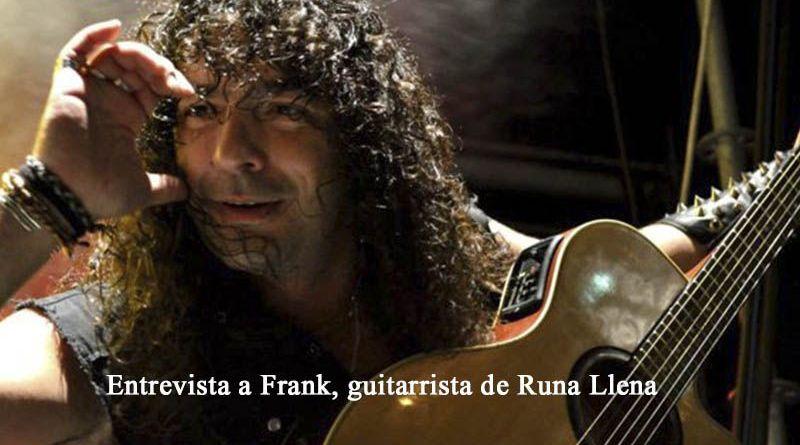 Hablamos con Frank, antiguo guitarrista de Mägo de Oz y fundador d, junto con Carlitos, de Runa Llena