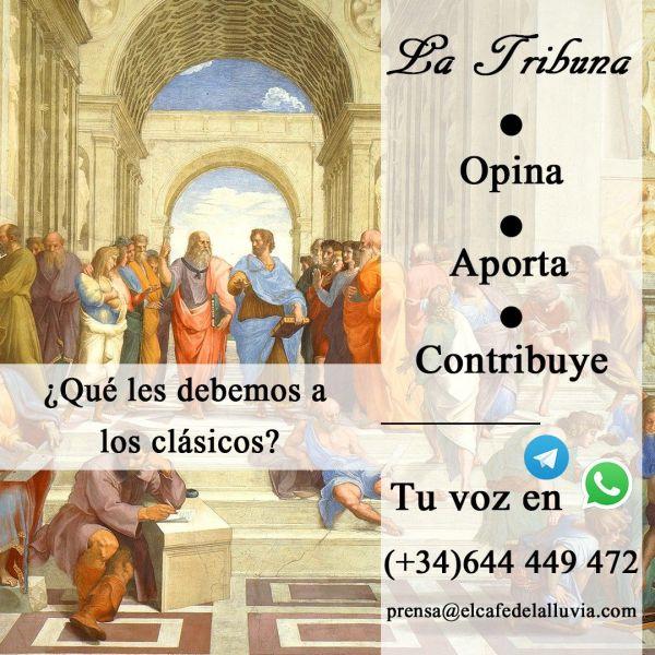 Imagen de la Tribuna sobre los clásicos el latín y el griego