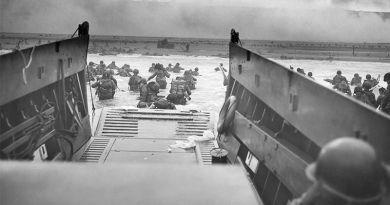 Desembarco de normandía- Segunda Guerra Mundial