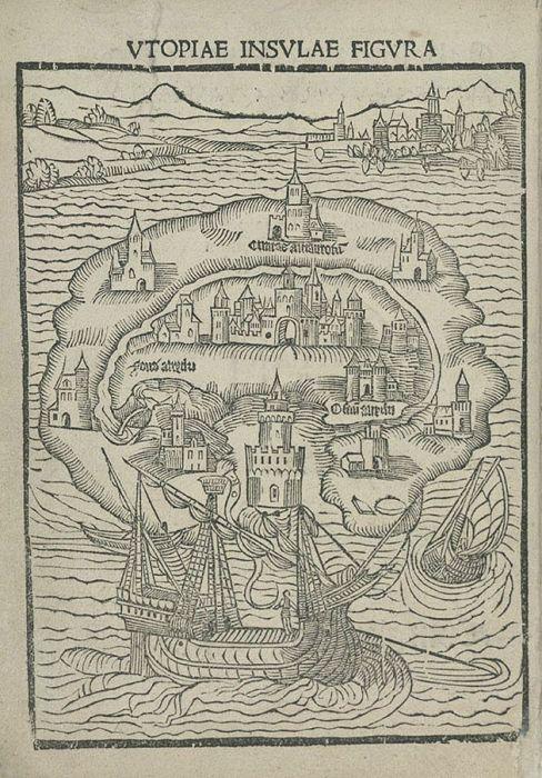Mapas y utopía con Tomás Moro