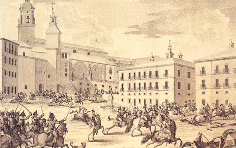 Beethoven y España bajo una marcha militar