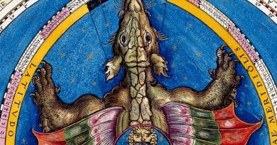 La belleza del Cosmos: Astronomicum Caesareum - dragón