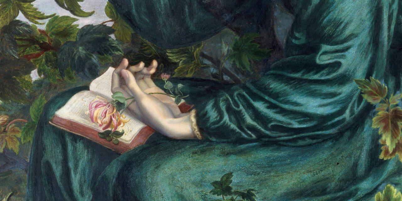 Artistas prerrafaelitas: lectores, poetas y pintores