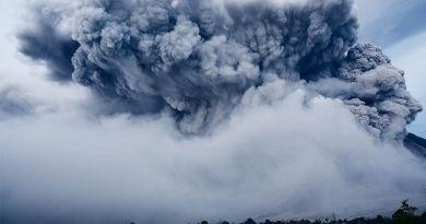 Desastres naturales - volcán