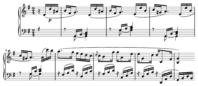 Sonata 10 de Beethoven