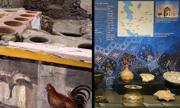 ¿Qué se comía en Pompeya? – La Persia medieval en el MAN