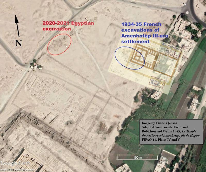 Luxor- excavaciones - jensen - egipto