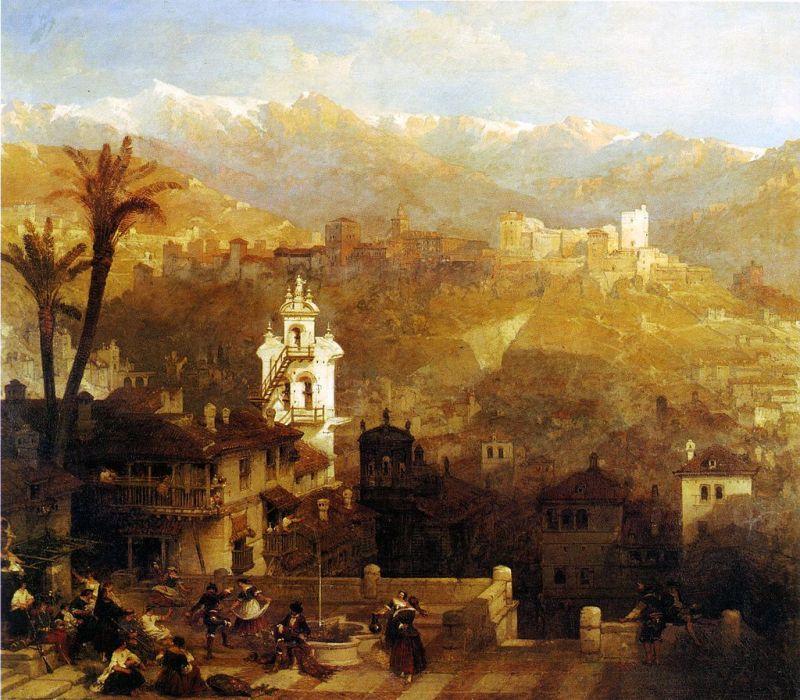 Alhambrismo - romanticismo español
