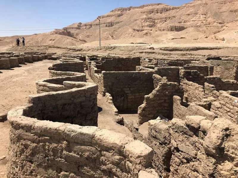Ciudad perdida de luxor- arqueología -egipto