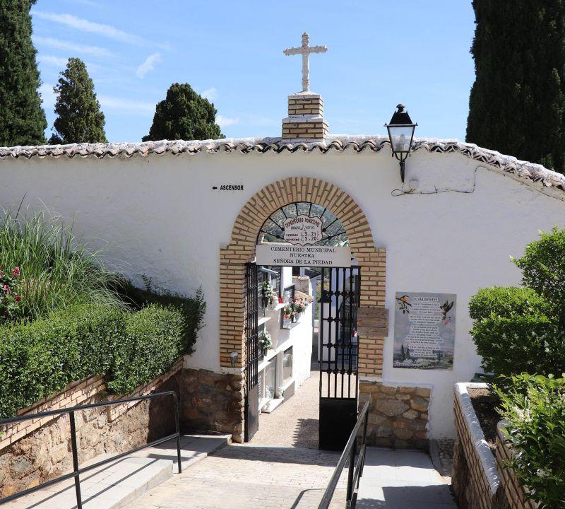 Iznájar - cementerio- versos
