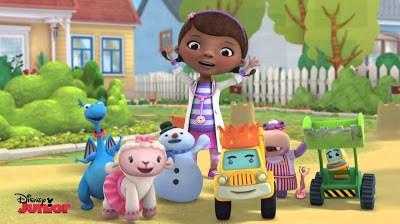 Resultado de imagen de nombres de los dibujos animados de la doctora juguetes