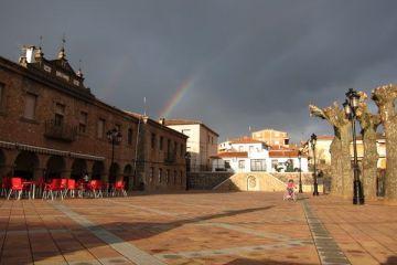 Plaza del Ayuntamiento. Riópar.