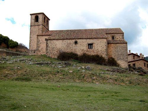 Iglesia del Espiritu Santo. Riópar Viejo.