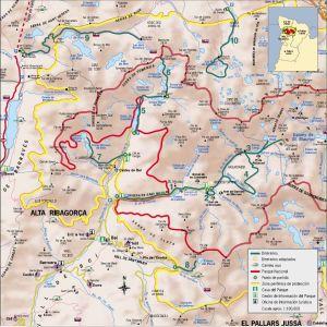 Intinerarios Parque Nacional Aigüestortes