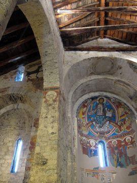 Interior iglesia Sant Climent