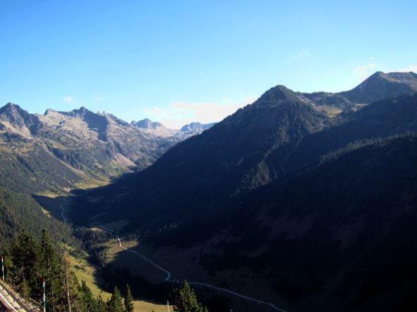 El Valle de Arán desde la carretera