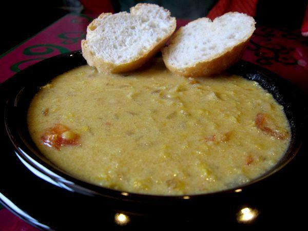 Sopa india de lentejas rojas