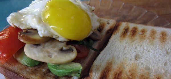 Sandwich de huevo