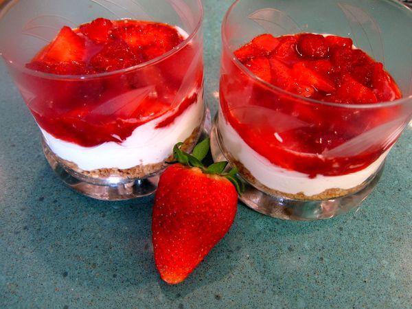 Cheesecakee de fresas