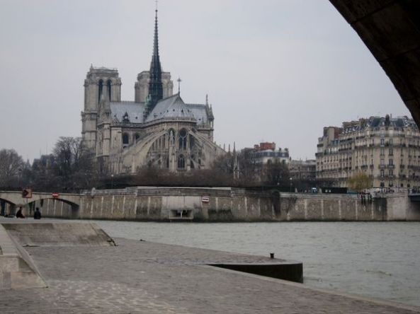 Notre Dame desde la Tournelle