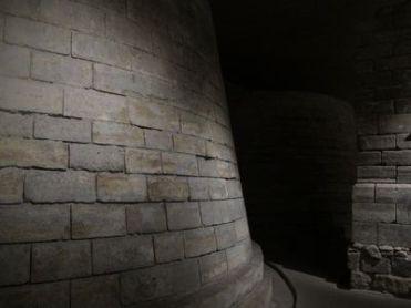 Cimientos Medievales del Louvre.