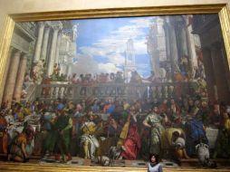 Las Bodas de Cana. Museo del Louvre. Primera Planta.