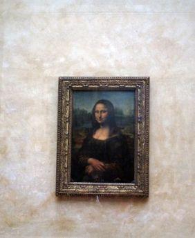 La Mona Lisa. Museo del Louvre. Primera Planta.