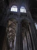 Interior de la iglesia de San Eustaquio.