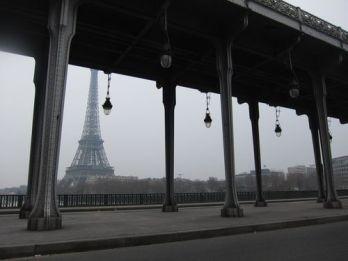 Torre Eiffel desde el puente de Passy